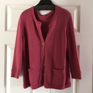 Ann Taylor cardigan size large
